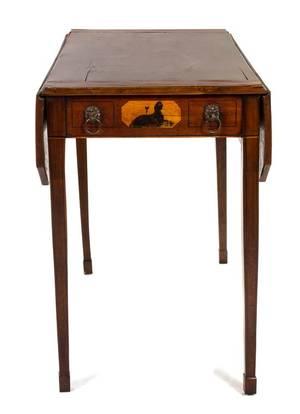 An American Mahogany Pembroke Table