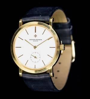 An 18 Karat Yellow Gold Ref 92240 Wristwatch Vacheron Constantin