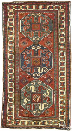 Kazak rug ca 1900