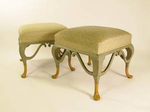 Pair of William Switzer Upholstered Benches