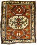 Lori Pambok Kazak rug late 19thc