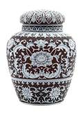 A Thomas Webb  Sons Cameo Glass Jar and Cover