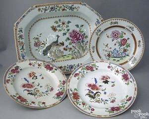 Chinese export platter early 19th c