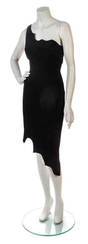 A Moschino Cheap and Chic Black Dress