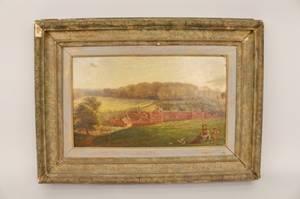Myles Birket Foster British Landscape Oil