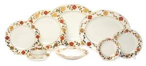 A Royal Crown Derby Porcelain Dinner Service
