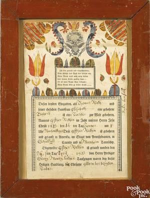 Martin BrechallSoutheastern Pennsylvania active 17831830