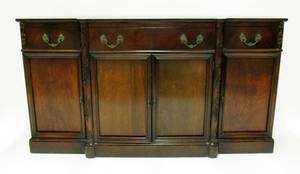 Mahogany Pull Out Secretary