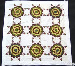Pieced quilt ca 1900