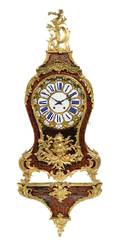 A Napoleon III Gilt Bronze Mounted Boulle Marquetry Bracket Clock