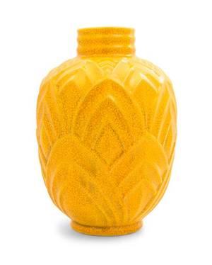 A Boch Freres Ceramic Vase