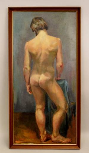 Dorothy Poole Full Length Male Nude