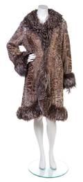 A Louis Feraud Reversible Fur Coat