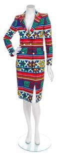 A Lanvin Multicolor Cotton Ensemble