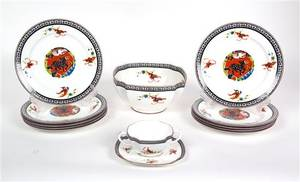 A Partial Set of Royal Worcester Porcelain
