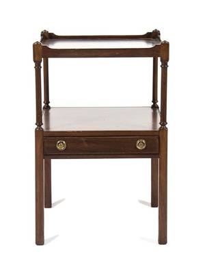 A Georgian Style Mahogany Side Table