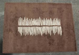 A Contemporary Brown Wool Rug