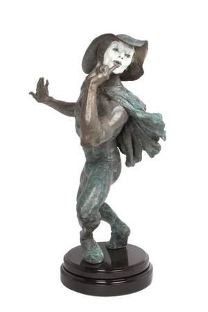An American Bronze Figure