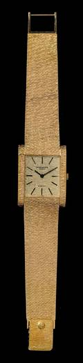 An 18 Karat Yellow Gold Ref 35531 Wristwatch Patek Philippe for Gbelin