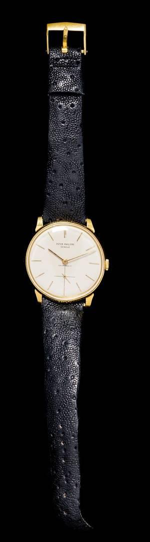 An 18 Karat Yellow Gold Ref 25732 Calatrava Wristwatch Patek Philippe for Hausmann  Co