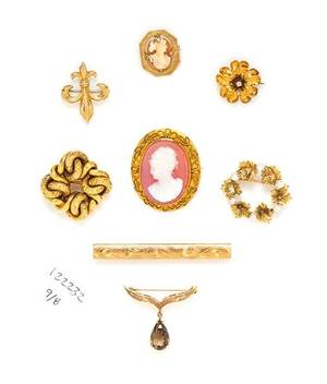 A Collection of Antique and Vintage Jewelry
