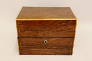 An English Rosewood Rectangular Box