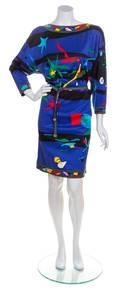 A Leonard Multicolor Dress