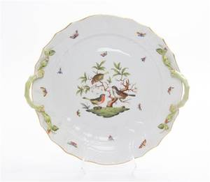 A Herend Porcelain Serving Tray