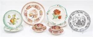 A Collection of Porcelain Table Articles