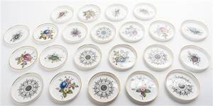 A Collection of TwentyTwo Royal Worcester Coasters