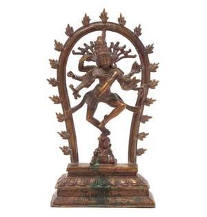 An Indian Bronze Figure of a Bodhisattva