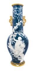 A Minton PateSurPate Vase Lawrence Birks