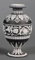 Wedgwood Black Jasper Dip Vase