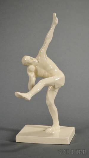 Wedgwood Alan Best Model of The Weight Thrower