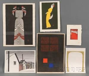 Six Assorted Prints Kaoru Kawano