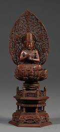 Carved Wood Guanyin