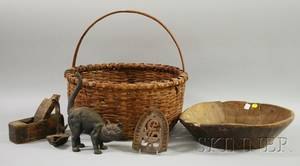 Six Assorted Country and Decorative Items