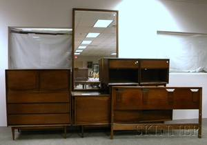 Five Pieces of Midcentury Modern Bedroom Furniture