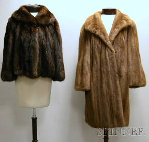 Two Ladys Fur Coats