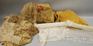 Group of Lace and Crocheted Items