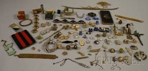 Group of Mostly Costume Jewelry and Accessories