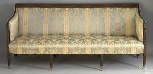 New York Federal mahogany sofa ca 1815