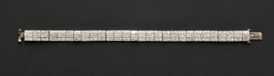 Art Deco Platinum and Diamond Bracelet Tiffany  Co