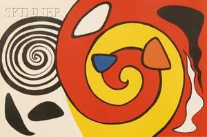 Alexander Calder American 18981976 Untitled Yellow Spiral