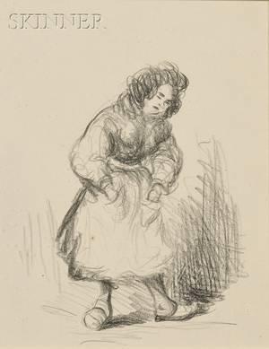 Robert Henri American 18651929 Portrait of a Woman