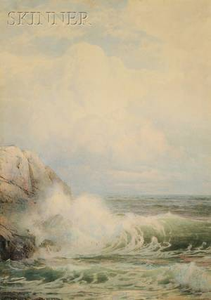 William Trost Richards American 18331905 Summer Clouds