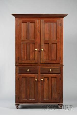 Poplar TwoPiece Cupboard