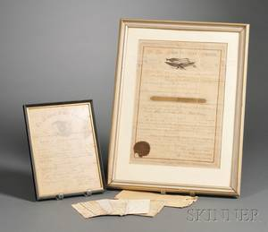 Group of Civil War Ephemera