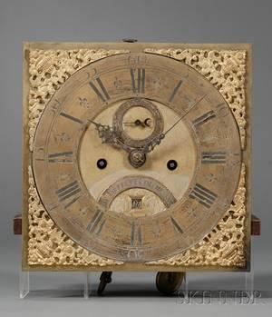 Marquetry Longcase Clock by Jn Buffett
