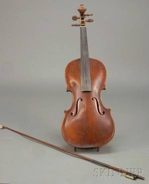 German Violin c 1850